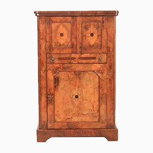 Victorian Marquetry Inlaid Cabinet