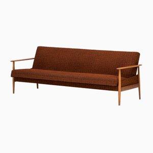 Sofá cama de tres plazas holandés, años 60