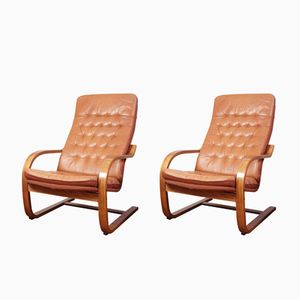 Cantilever Atlas Armchairs from JECH, 1990s, Set of 2
