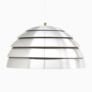 Lampada a sospensione in alluminio di Hans-Agne Jakobsson per Markaryd, anni '60