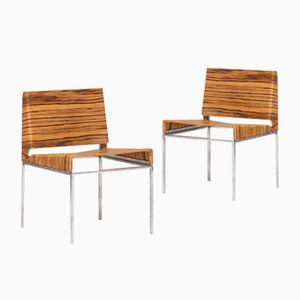 Chaises d'Appoint, Suisse, 1970s, Set de 2