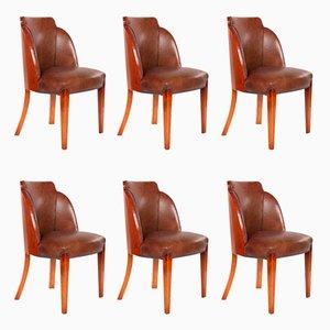 Chaises de Salon Epstein Cloud Art Déco, Set de 6