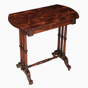 William IV Rosewood Side Table