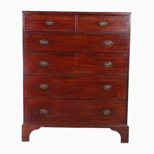 Large Antique Mahogany Chest, 1770s