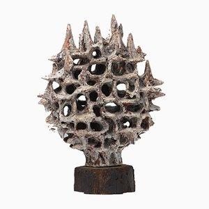 Keramikskulptur von Yves Rhayé, 1960er