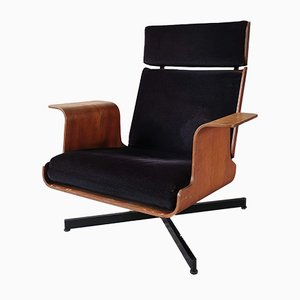 Vintage Lounge Chair by Jacques Dumond, 1960s