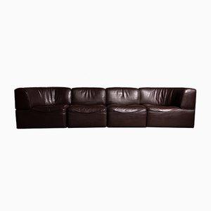 Modulares DS 15 Sofa aus Nackenleder von de Sede, 1970er