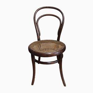 Niedriger antiker Nr. 14 Stuhl von Thonet