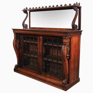 Bibliothèque William IV Antique en Palissandre