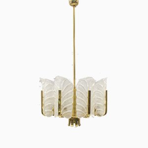 8-Light Chandelier by Carl Fagerlund for Orrefors, 1960s