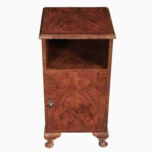 Vintage Queen Anne Style Walnut Cabinet from Bartholomew & Fletcher