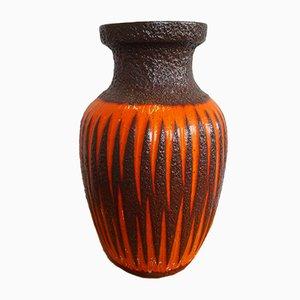 Fat Lava Ceramic Vase from Scheurich, 1960s