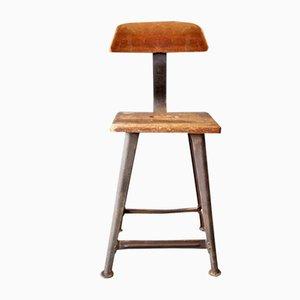 Industrieller Vintage Stuhl von Rowac, 1930er
