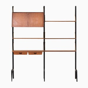 Two-Piece Wall Unit by Louis van Teeffelen for Wébé, 1950s