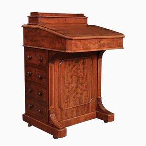Antiker Davenport Schreibtisch aus Mahagoni