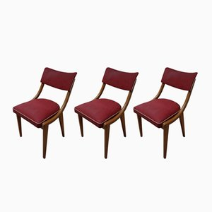 Vintage Dutch Chairs Dining Chairs, 1950s, Set of 3