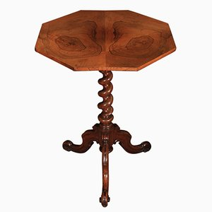 Table Octogonale Vintage en Palissandre