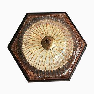 Vintage Murano Glass Wall Lamp