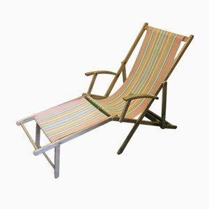 Beach Lounge Chair, 1950s