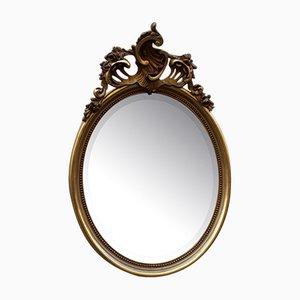 Specchio antico in stile barocco dorato, inizio XX secolo