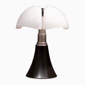 Höhenverstellbare Pipistrello Tischlampe von Gae Aulenti für Martinelli Luce, 1980er
