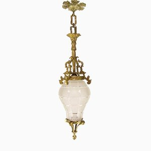Louis XIV Versailles Style Ceiling Lamp, 1920s