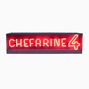 Neon Chefarine 4 Advertising Sign, 1950s