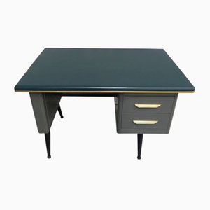 Vintage Steel Writing Desk from TDS Sclessin