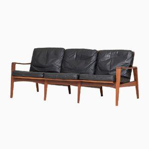 Sofá de tres plazas vintage de Arne Wahl Iversen para Komfort