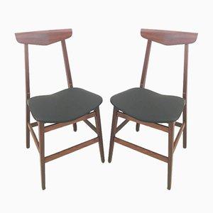 Dänische Stühle, 1950er, 2er Set