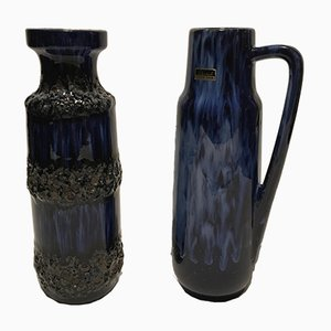 Vasi vintage di Scheurich, anni '70, set di 2