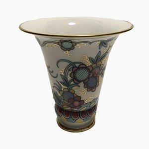 Vintage Art Deco Vase von Hutschenreuther