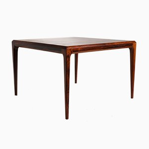 Rosewood Coffee Table by Johannes Andersen for CFC Silkeborg, 1950s