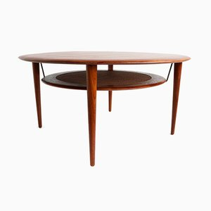 Model 515 Coffee Table by Peter Hvidt & Orla Molgaard Nielsen for France & Son, 1950s