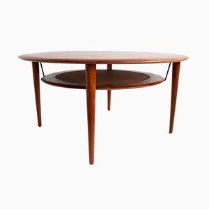 Tavolino da caffè nr. 515 di Peter Hvidt e Orla Molgaard Nielsen per France & Son, anni '50