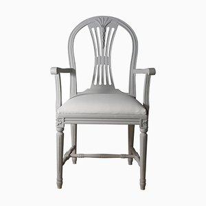 Swedish Gustavian Style Armchair, 1920s