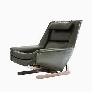 Italienischer Mid-Century Sessel mit Bezug aus Skai von Pizzetti, 1960er