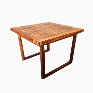 Mid-Century Rosewood Coffee Table by Rud Thygesen for Heltborg Møbler