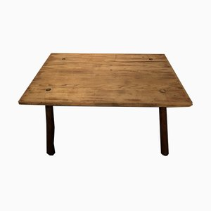 Rustic Wood Table, 1960s