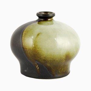 Jarrón modelo 4863 de cerámica de TK Thun Czechoslovakia, años 60