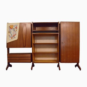 Vintage Wall Unit from A. Ferri, 1950s