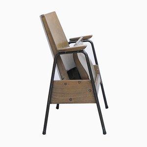 Chaise Pliante Empilable Mid-Century, Allemagne, 1960s, Set de 2