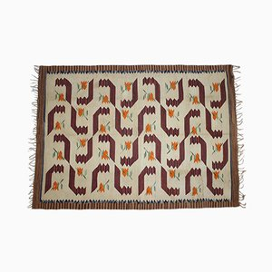 Handgewebter Teppich, 1930er
