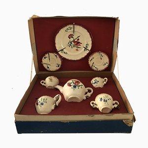 Juego de té infantil vintage de porcelana de Longchamp