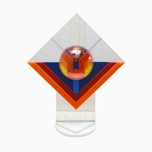 Escultura de plexiglás multicolor de Raffa Festa, años 70