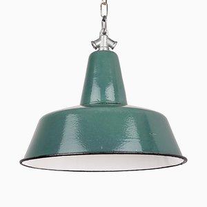 Lámpara colgante industrial vintage de A23, años 60