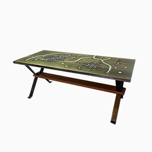 Tiled Top Coffee Table by Adri, 1960s
