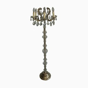 Vintage Marie Theresia Crystal Floor Lamp from Joska Bodenmais