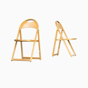Mid-Century Folding Chairs from OTK, Set of 2