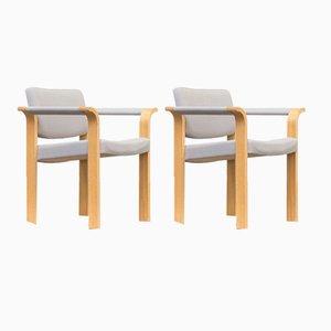 Esszimmerstühle von Rud Thygesen & Johnny Sørensen für Magnus Olesen, 1960er, 3er Set